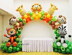 New baby shower ideas safari boy 22 Ideas – Baby Shower İdeas 2020 Safari Party, Safari Theme Birthday, Jungle Theme Parties, Baby Boy 1st Birthday Party, Zoo Birthday, Jungle Theme Decorations, Jungle Party, Birthday Ideas, Deco Jungle