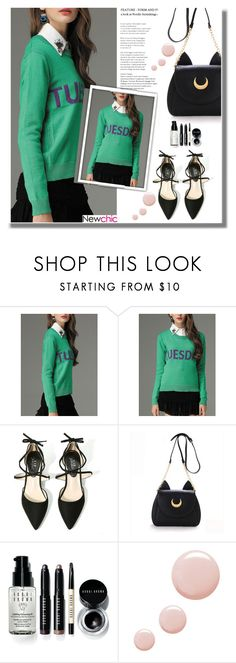 """Newchic 10"" by edita-n ❤ liked on Polyvore featuring Bobbi Brown Cosmetics and Topshop"