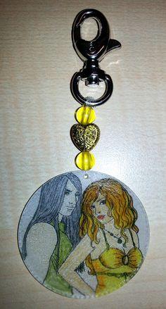 Schlüsselanhänger 17 – Selina/Damien - Charming Creations