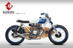 Honda CG125 Street Tracker Design #19 by Barbara Custom Motorcycles #motorcycles…