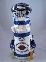 COLTS diaper cake