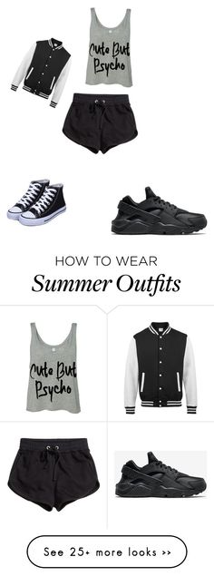 """but cute"" by phine48 on Polyvore featuring NIKE and H&M"