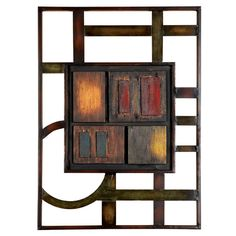 Found it at Wayfair - Cubism Abstract Geometric Wall Art