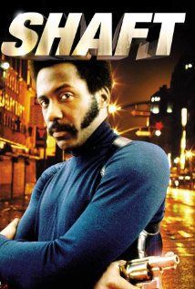 SHAFT (1971) - An American blaxploitation film directed by GORDON PARKS, released by Metro-Goldwyn-Mayer.  An action film with elements of film noir, SHAFT tells the story of a black private detective, John Shaft, who travels through Harlem and Italian mob neighborhoods in order to find the missing daughter of a black mobster. It stars Richard Roundtree as Shaft. The movie was adapted by Ernest Tidyman and John D. F. Black from Tidyman's 1971 novel of the same name.  ~ (IMDB)