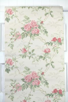 Our vintage wallpaper is sold by the yard. This authentic vintage wallpaper was printed in the 1960s. It is actual vintage stock, not a