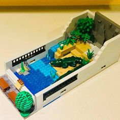 Lego Projects, Projects To Try, Lego Zoo, Lego Truck, Lego Modular, Awesome Lego, Cool Lego Creations, Lego Worlds, Lego Stuff