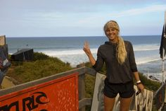O'Neill Girls surf team rider Sage Erickson at the Rip Curl Pro Bells Beach, Australia.