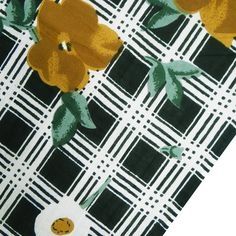 ITEM DESCRIPTION  * Black color cotton voile printed sewing fabric.  * Beautiful tiger pattern in brown, yellow, off white and green color all over the