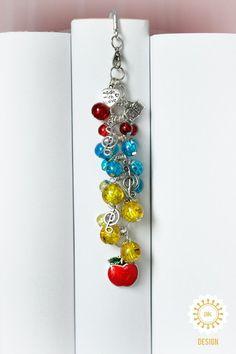Metall - Schneewittchens Apfel ♥ Märchen ● Lesezeichen - ein Designerstück von SchmettAlinchen bei DaWanda