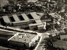 Old photo of Redondo Beach High School.