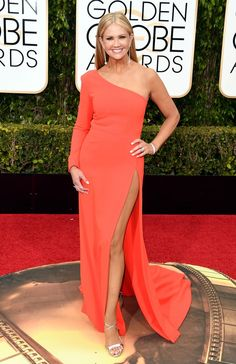 Nancy O'Dell - 2016 Golden Globe Awards