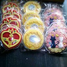 Sailor moon cookies                                                                                                                                                                                 More