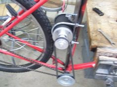 How to Build an Electric Bike for Less Than $100 : 23 Steps (with Pictures) - Instructables Electric Bikes For Sale, Electric Bike Motor, Electric Tricycle, Diy Electric Bike, Electric Sheep, Trike Bicycle, Scooter Bike, Motorized Bicycle, Bicycle Engine