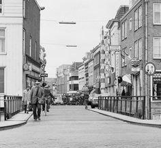 Hoogstraat Gorinchem (jaartal: 1980 tot 1990) - Foto's SERC