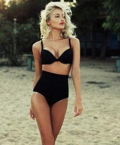 high waisted bikini - Google zoeken