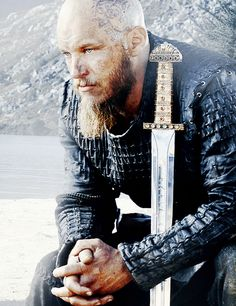 YES! I know he's a Viking not a knight but he looks the part here.