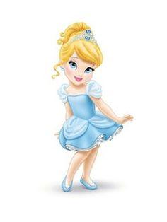 Disney Princess: Nuevo diseño para las princesas bebe / New design for the Disney princess babies