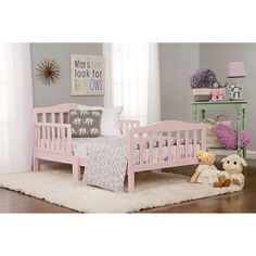 Dream On Me Classic Design Convertible Toddler Bed & Reviews | Wayfair