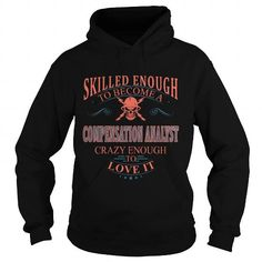 COMPENSATION ANALYST #fashion #clothing. LOWEST SHIPPING:  => https://www.sunfrog.com/LifeStyle/COMPENSATION-ANALYST-111041922-Black-Hoodie.html?id=60505