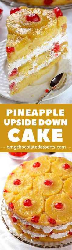 cheap, yummy and simple to make pineapple upside-down cake recipe. One of the best cakes I've ever put to my lips.A cheap, yummy and simple to make pineapple upside-down cake recipe. One of the best cakes I've ever put to my lips. Coconut Dessert, Bon Dessert, Low Carb Dessert, Weight Watcher Desserts, Just Desserts, Delicious Desserts, Dessert Recipes, Apple Desserts, Easy Cheap Desserts