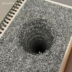 Cambodian graphic design artist Visoth Kakvei takes doodling to the next level. The 27-year-old freehands cool doodles that look like intricate three-dimensional mazes and nature-inspired designs. Each piece takes Kakvei anywhere from 3-6 hours to complete and is later digitally enhanced to mak…