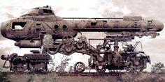 #Steampunk cool ride!