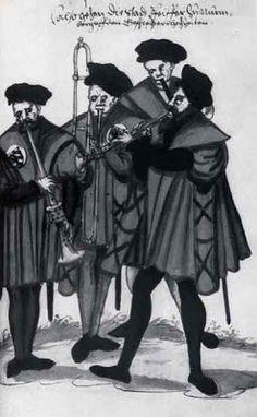 TICMUSart: Sonneurs municipaux (1560-1580) (I.M.)