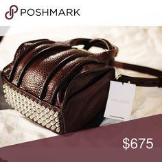 Alexander Wang Rockie bag Rare to find. Rhodium burgundy inside out Rockie bag. Alexander Wang Bags Shoulder Bags