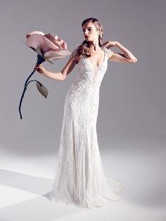 2015 Jenny Packham Eden Style Wedding Gowns Sheath Open Back With Beaded Ovelay Art Deco Wedding Dresses Elegant Sneath Tea Party Dresses Bridal Collection Art Deco Wedding Dress, Elegant Wedding Dress, Designer Wedding Dresses, Elegant Dresses, Wedding Gowns, Wedding Blog, Lela Rose, Dresses Uk, Bridal Dresses