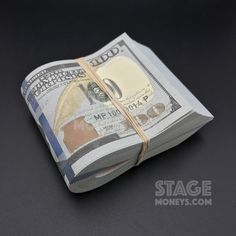 Look how rich I am. just kidding! This is fake prop money that's used for movies and TV shows! It looks pretty realistic, I could use some of this for myself. Keyshia Ka Oir, Money Stacks, Wealth Affirmations, Friends In Love, Cool Bands, How To Look Pretty, Poker, Good Things, Personalized Items