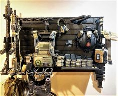 Keep your firearms organized and gear safe by customizing a gun wall or gun room. Choose from pre-bundled walls or build your own to suit your specific needs. Easily expands with your growing collection!