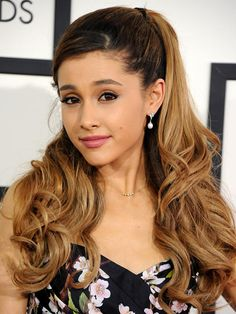 Ariana Grande's Soft Pink Lip At The 2014 Grammys — Get The Look