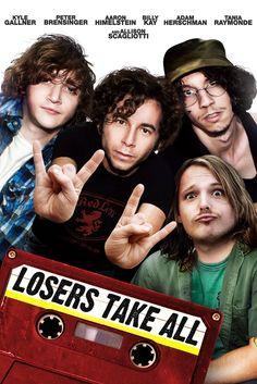 Losers Take All Movie Poster - Aaron Himelstein, Tania Raymonde, Kyle Gallner  #LosersTakeAll, #MoviePoster, #AlexSteyermark, #Comedy, #AaronHimelstein, #KyleGallner, #TaniaRaymonde
