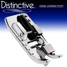 Stitch in th ditch foot  ~  Amazon.com: Distinctive Edge Joining / Stitch in the Ditch Sewing Machine Presser Foot - Fits All Low Shank Snap-On Singer*, Brother, Babylo...