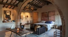 Stunning luxury property for sale near Montepulciano, with a beautiful 'designer rustic' interior, 8 bedrooms, pool, annex and ha Siena, Hotels In Tuscany, Tuscany Italy, Luxury Property For Sale, Small Luxury Hotels, Weekend House, Farmhouse Remodel, Boutique Homes, Spacious Living Room