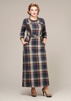 Платья Mira Fashion 3763 Muslim Fashion, Modest Fashion, Skirt Fashion, Hijab Fashion, Fashion Outfits, Modest Dresses, Dresses With Sleeves, Woolen Dresses, Kurti Neck Designs