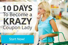 10 Days to Become a Krazy Coupon Lady