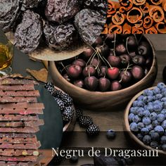 A Pocket Guide- Red Romanian Grapes- Negru de Dragasani Forest Fruits, Sour Cherry, Wines, Serving Bowls, Stuffed Peppers, Pocket, Tableware, Red, Mixing Bowls