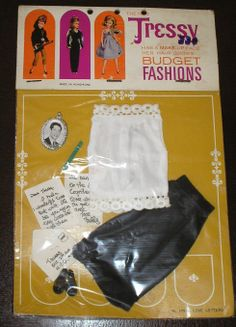 Vintage American Character Tressy Doll Outfit Love Letters 10914 in Package | eBay