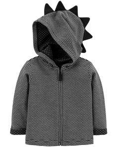 Circo Baby Boy Boys Navy Grey Hooded Jacket Coat Cargo Utility 12 Months