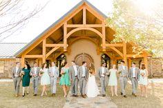 Heartland Place, 81 Ranch, Enid, Oklahoma. Bridal Party, Photo courtesy of Holly Gannett Photography