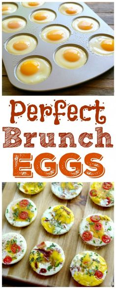 Perfect Brunch Eggs