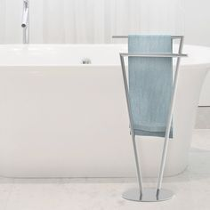 Sette Double Free Standing Towel Stand