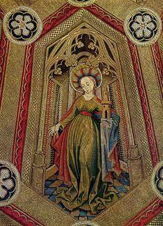 Medieval bead work