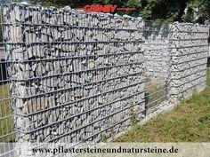 Natursteinmauer / Gabionensteine | Natursteine / Steine für Gabionen ...