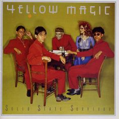 Yellow Magic Orchestra (YMO). OG J-Pop meets Synthpop Godfathers.