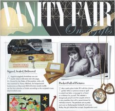 Loquet London in Vanity Fair's  'On Gifts' supplement.