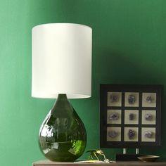 Glass Jug Table Lamp - Green | west elm