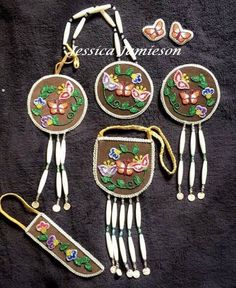 Beaded accessory set - JJ