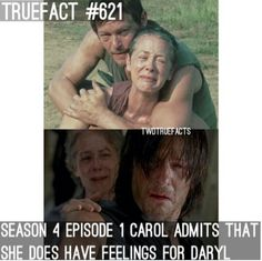 Yes well Daryl only cares about her as a friend nothing more
